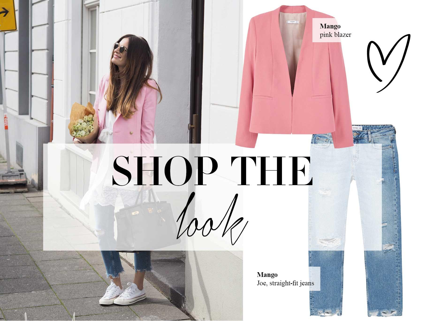 shop the look think pink editorial lena terlutter. Black Bedroom Furniture Sets. Home Design Ideas